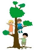 kids-and-a-tree