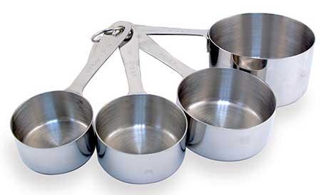 Consigli in cucina: Come convertire le misure americane CUP in ...