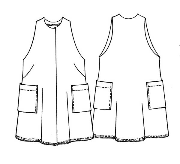 Cappotto senza maniche - SLEEVELESS JACKET