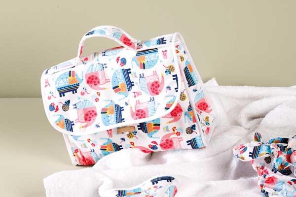 stile alla moda 2019 autentico buona consistenza Spiegazioni per realizzare una borsa neonato - Hobbydonna.it