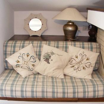 Tutorial per realizzare dei cuscini dipinti r e l pistis for Cuscini dipinti