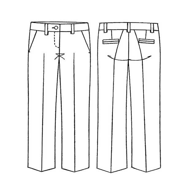 Eccezionale Tailleur Pantaloni - Cartamodello seconda parte: i pantaloni  OM28