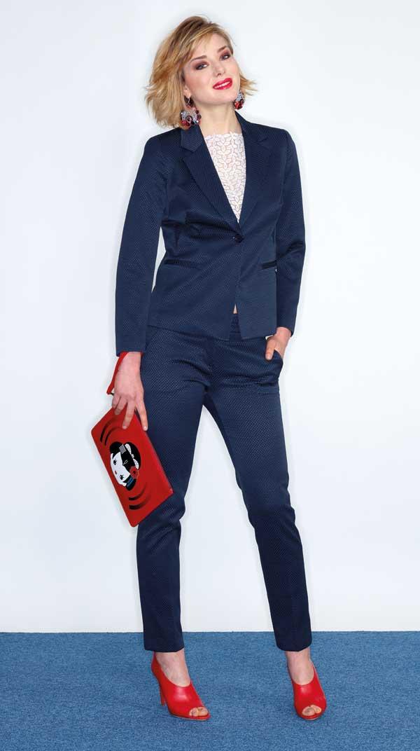 sneakers for cheap e5df4 fff9a Tailleur Pantaloni - Cartamodello prima parte: la giacca ...