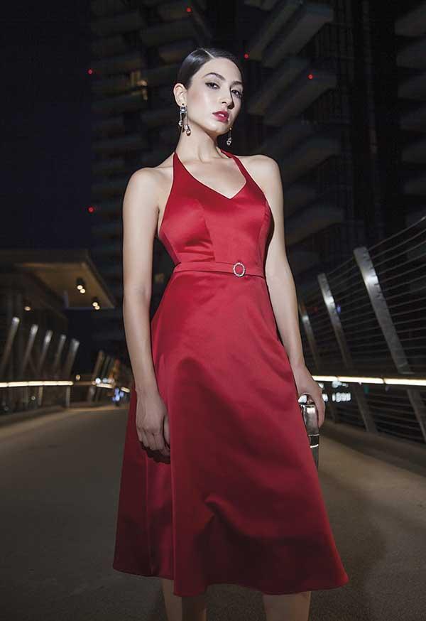 100% authentic c8641 79135 Abito elegante donna per le feste - spiegazioni e ...