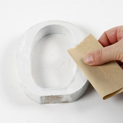 lettere in legno mdf : ... : Come realizzare una scritta con lettere in legno - Hobbydonna.it