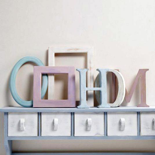 Decorazione come realizzare una scritta con lettere in for Scritta home in legno