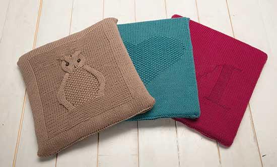 Estremamente Come realizzare un cuscino a maglia - Hobbydonna.it JQ38