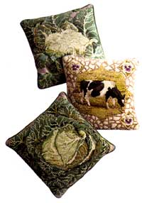 Cauliflower - Pansy the Cow - Cabbage - Ehrman by Kaffe Fassett