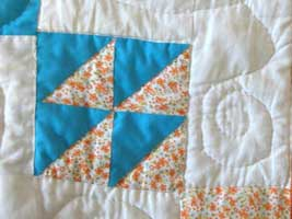 Tecnica patchwork all'americana