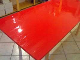Tavolo imitazione lacca cinese m done 39 for Rosso lacca cinese