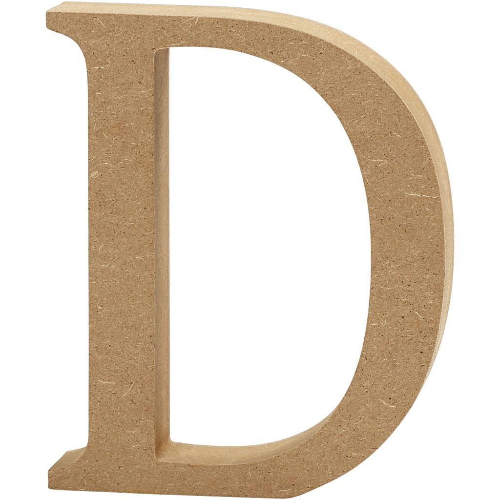 lettere in legno mdf : Lettere e numeri in legno MDF : Lettera in legno MDF 13h D