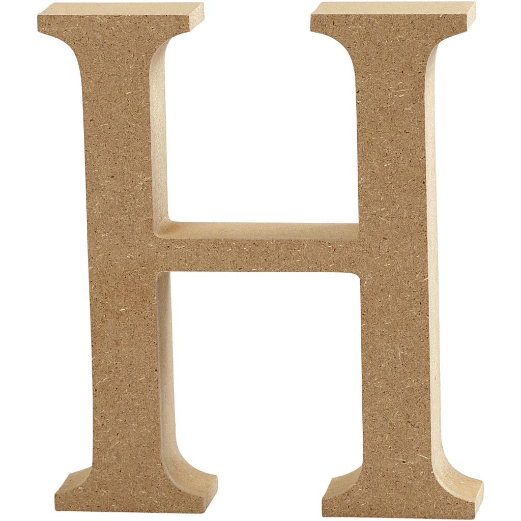 lettere in legno mdf : Lettere e numeri in legno MDF : Lettera in legno MDF 13h H