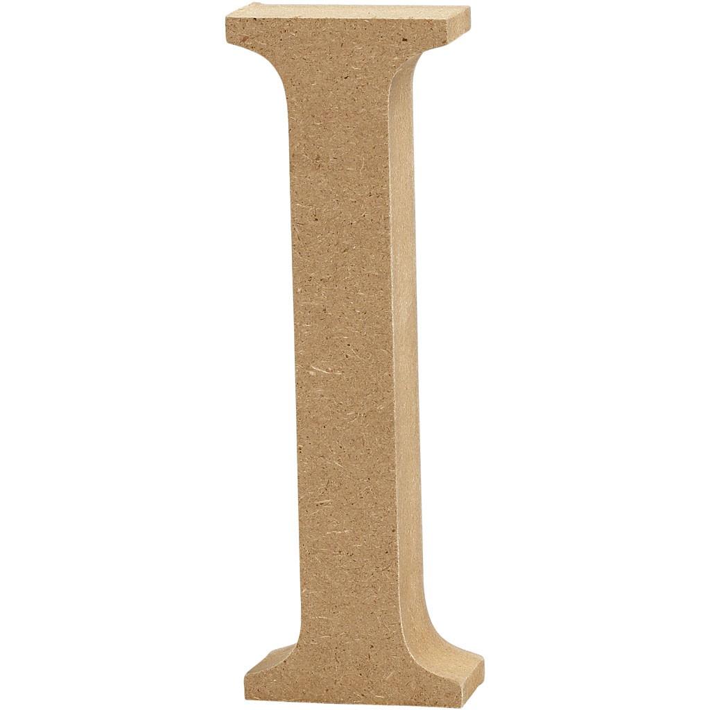 lettere in legno mdf : Lettere e numeri in legno MDF : Lettera in legno MDF 13h I