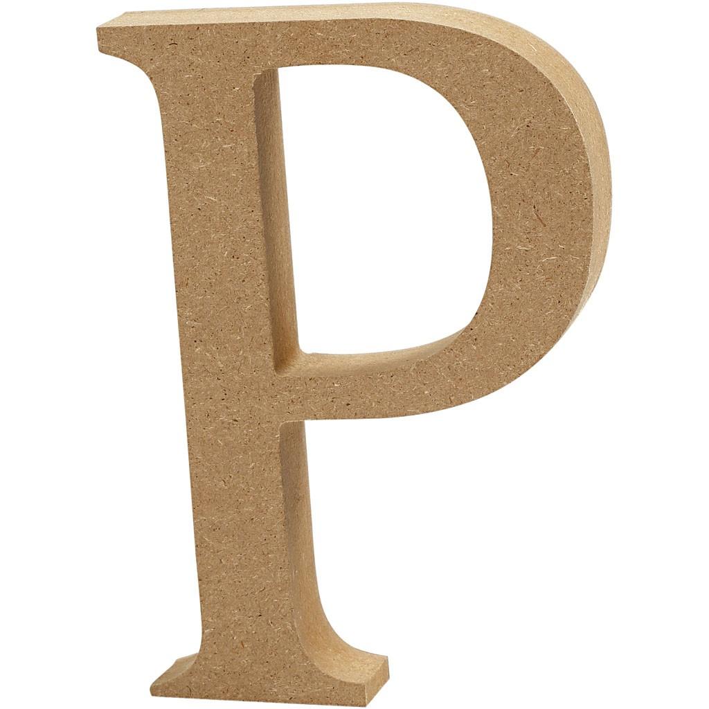 lettere in legno mdf : Lettere e numeri in legno MDF : Lettera in legno MDF 13h P