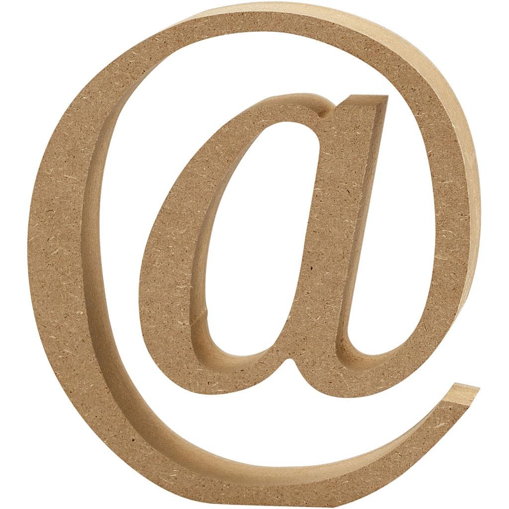 lettere in legno mdf : Lettere e numeri in legno MDF : Lettera in legno MDF 13h @