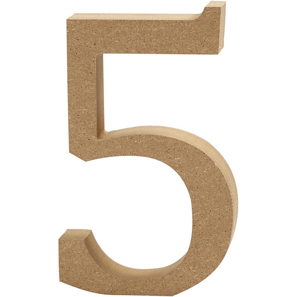 lettere in legno mdf : Lettere e numeri in legno MDF : Numero in legno MDF 13h 5