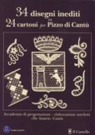 Trentaquattro  disegni inediti su 24 cartoni per pizzo di Cantù
