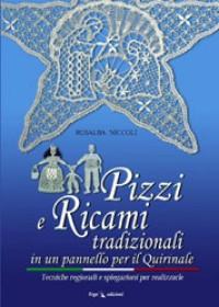 Pizzi e ricami tradizionali in un pannello per il Quirinale