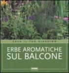 Erbe aromatiche sul balcone